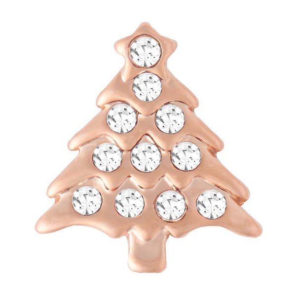 Petite Ginger Snaps Holiday Tree Rose Gold