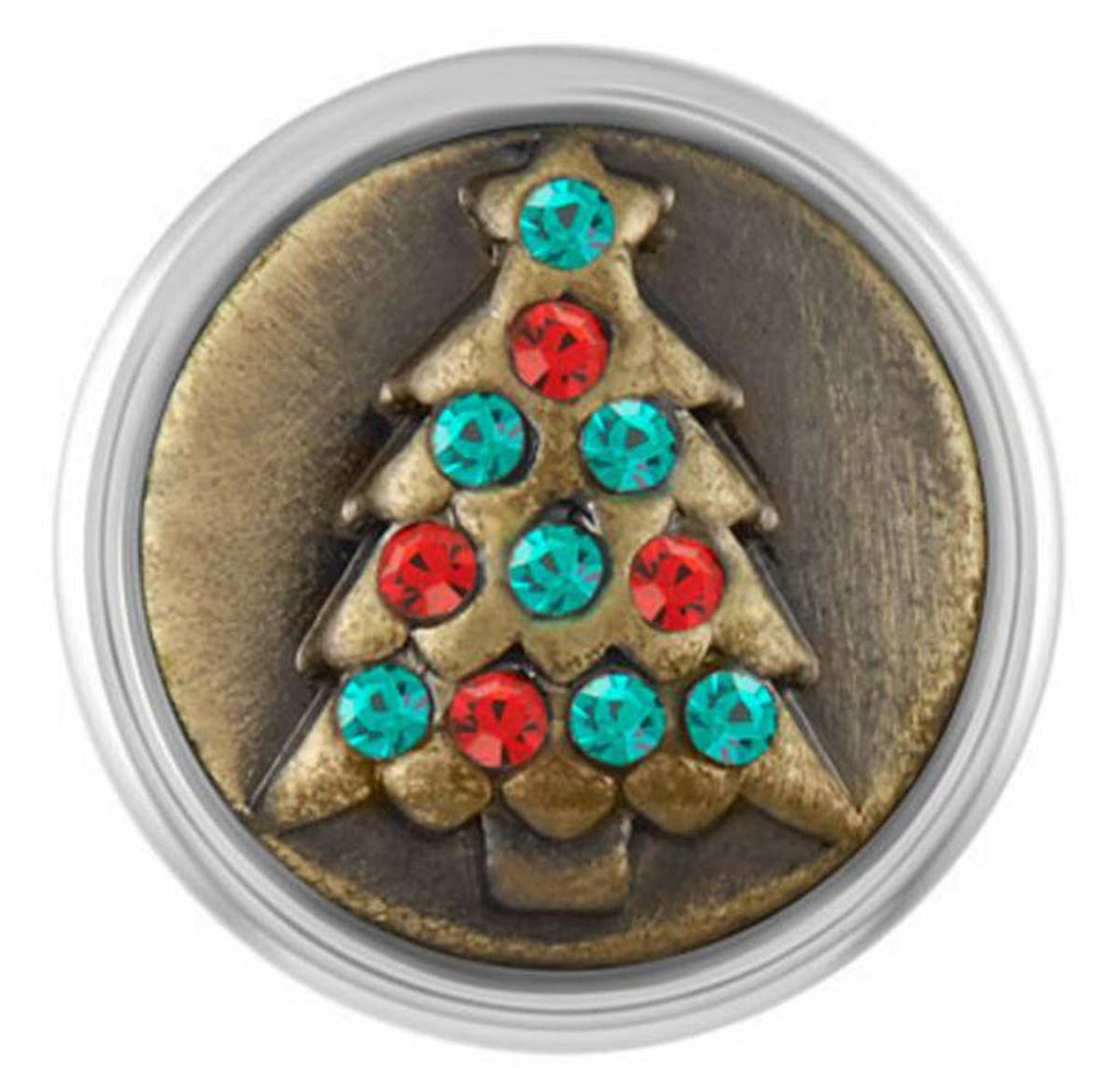 Petite Ginger Snaps Brass Holiday Tree