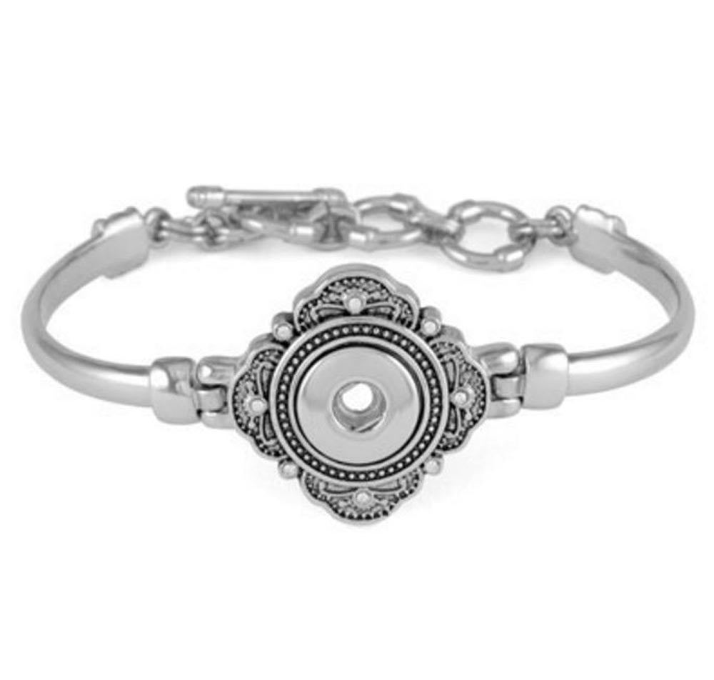 Petite Ginger Snaps  Hampton Bangle 1 Snap