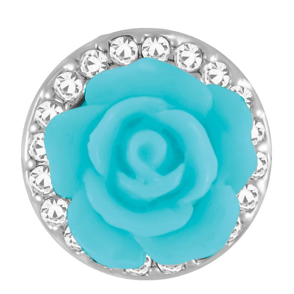 Petite Ginger Snaps Serendipity Snap-Turquoise