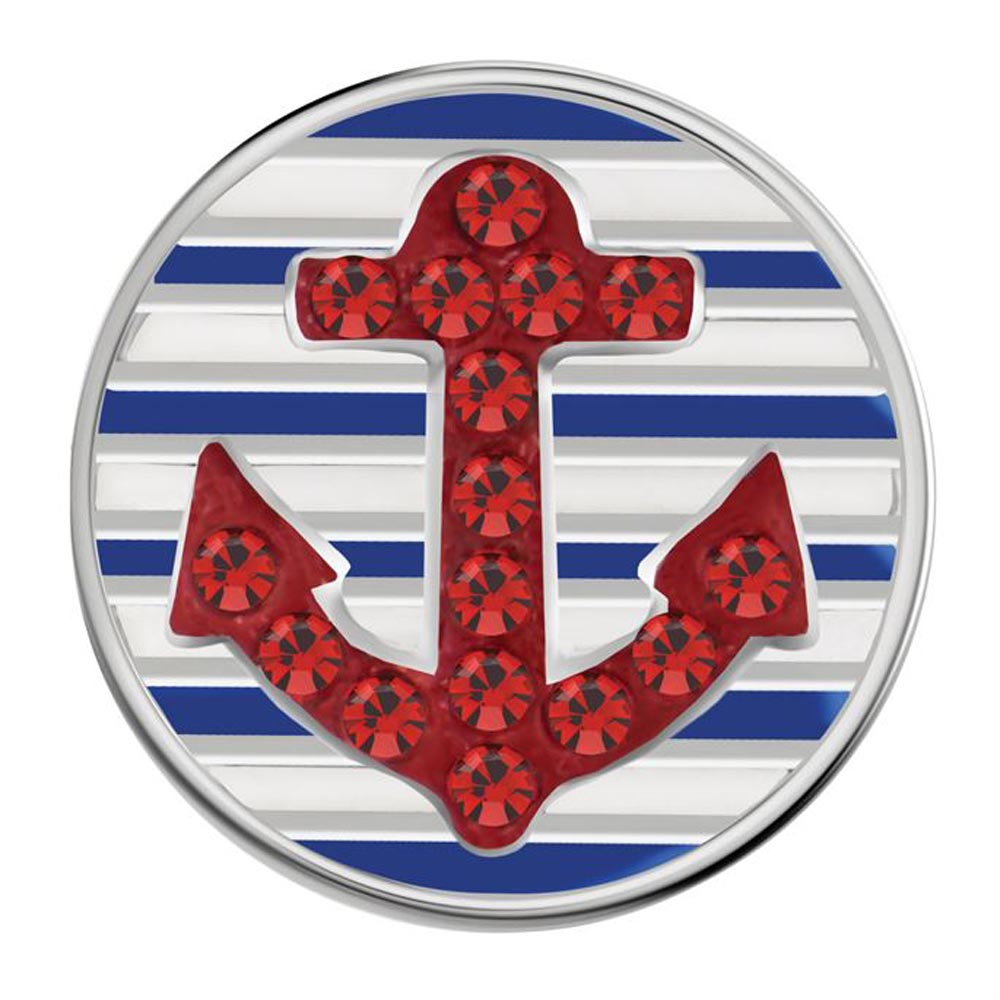 Petite Ginger Snaps Marine Anchor Snap