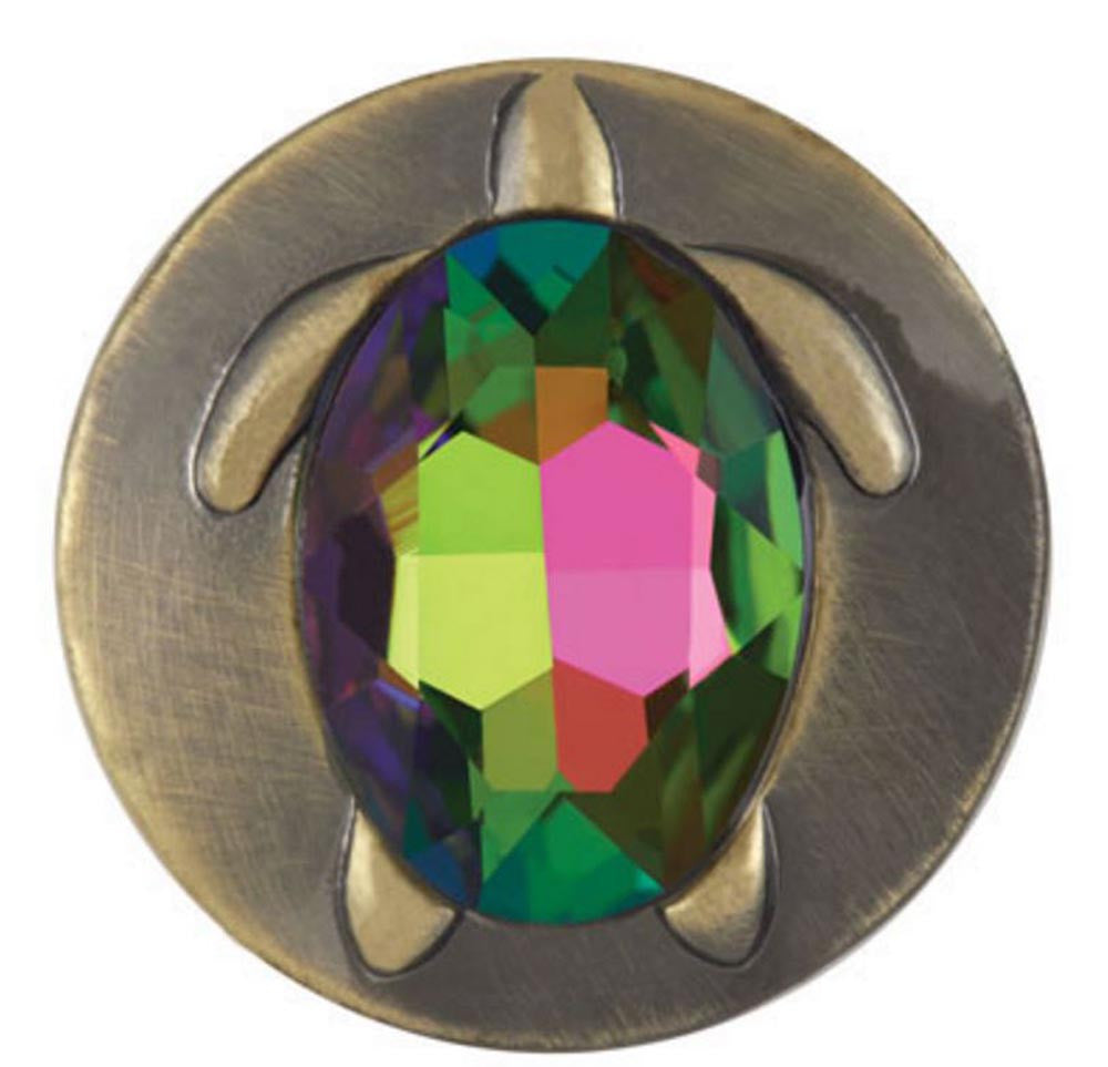 Ginger Snaps Turtle Crystal Snap