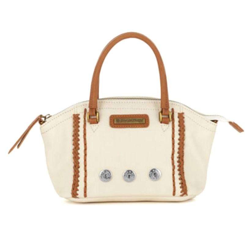 Ginger Snaps Sierra Top Handle Mini Satchel-Cream