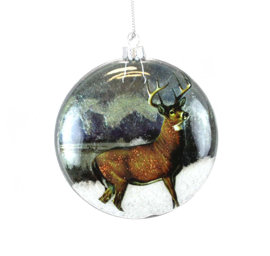 Deer Ornament Glass