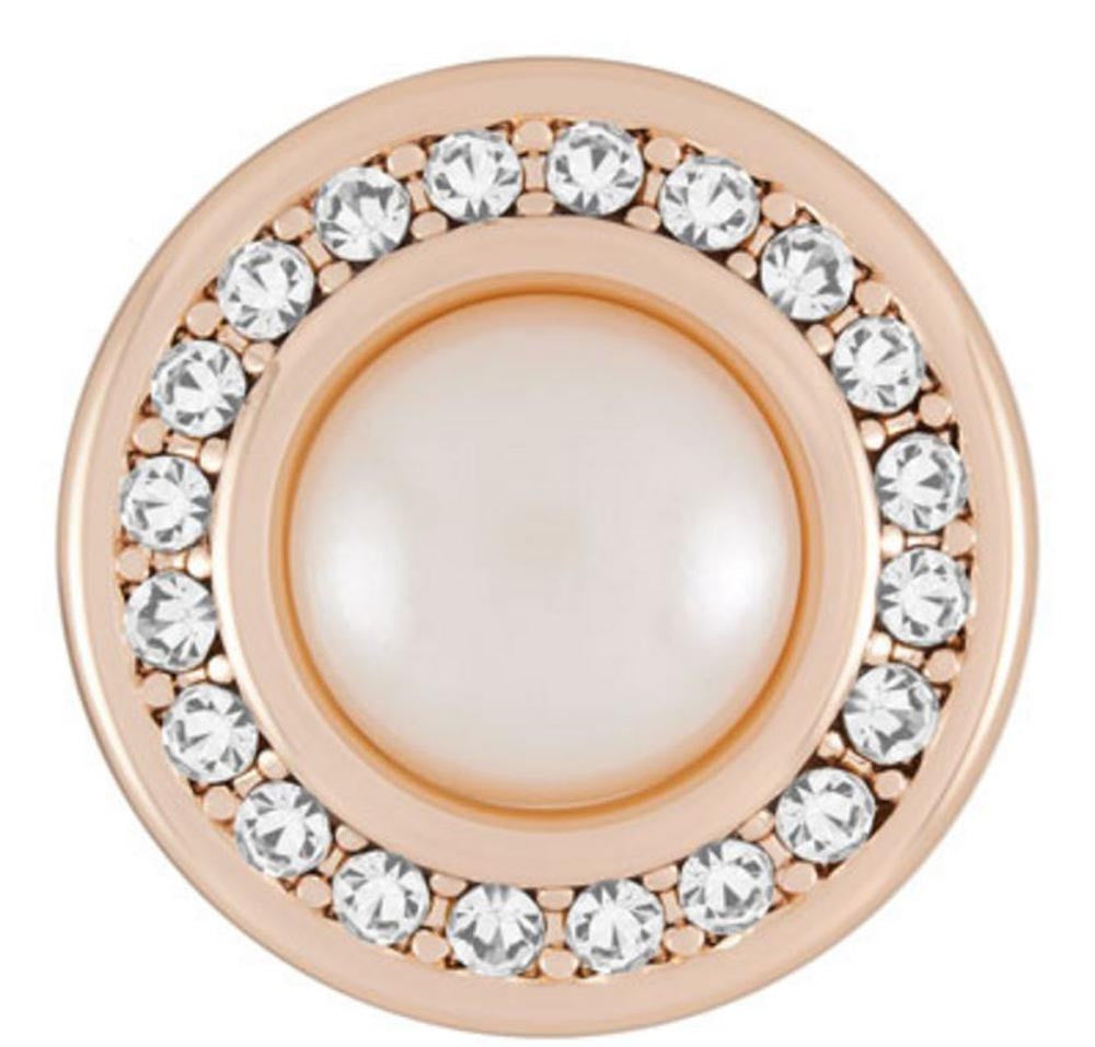 Ginger Snaps Miss Pearl-Rose Gold Snap