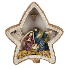 Star Light Up Nativity