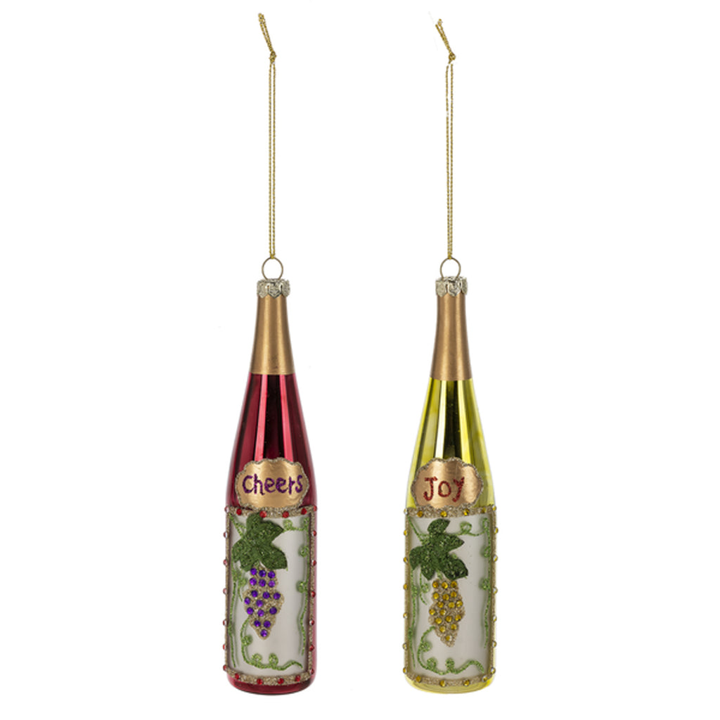 Christmas Ornaments - Wine