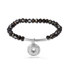 Petite Bracelet Smoke Facet Bar