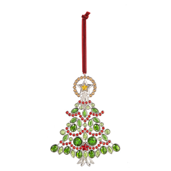 Radiant Christmas Tree Ornament