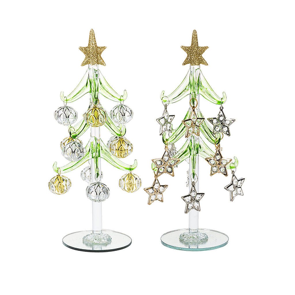 Christmas Tree with Shimmer Ornaments