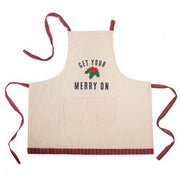 """GET YOUR MERRY ON"" Apron"