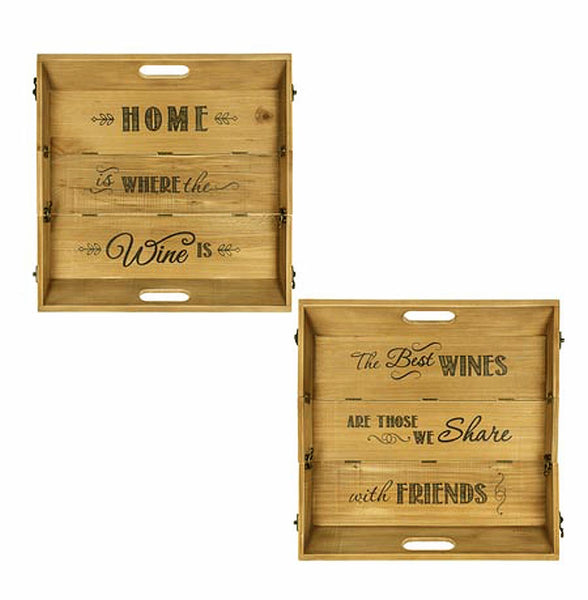 2-Way Wine Holder Trays