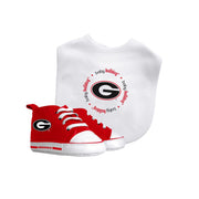 Georgia Bib & Pre-Walker Set