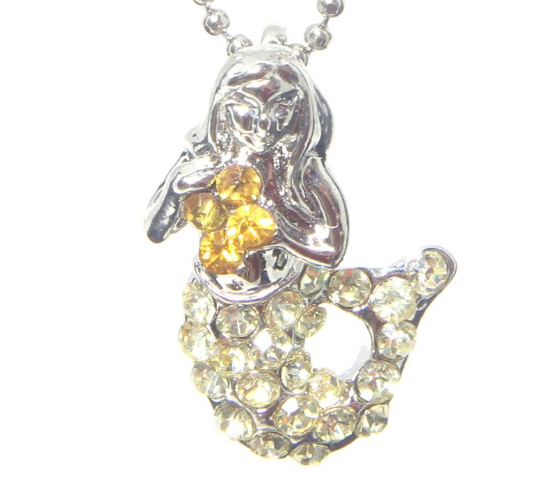 Mermaid Necklace, Citrine
