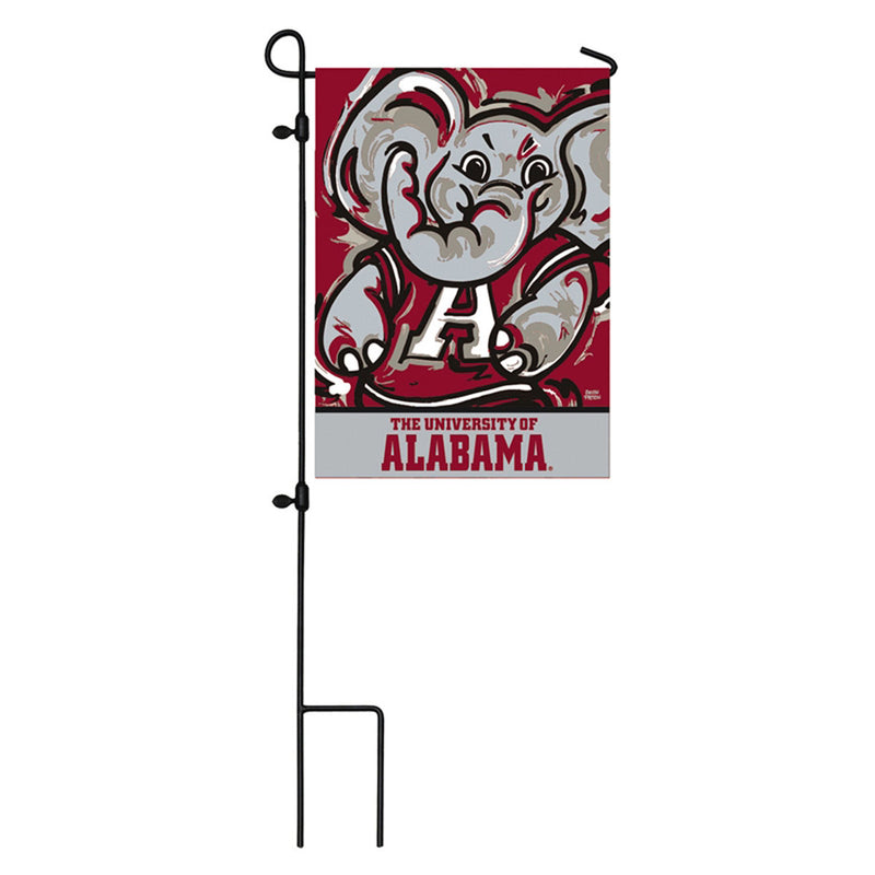 University of Alabama Garden Suede Flag, Justin Patten