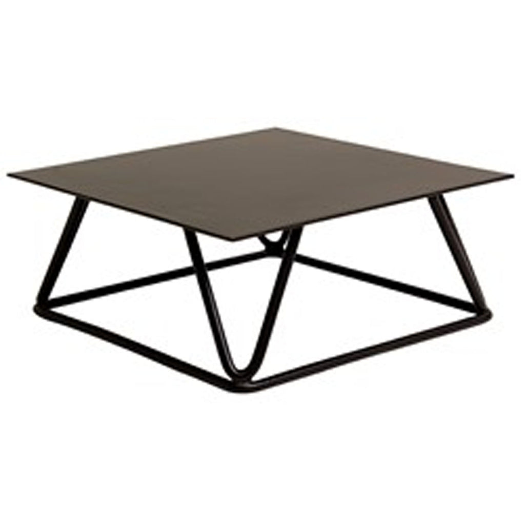 Candle Stand, Black Metal GEO