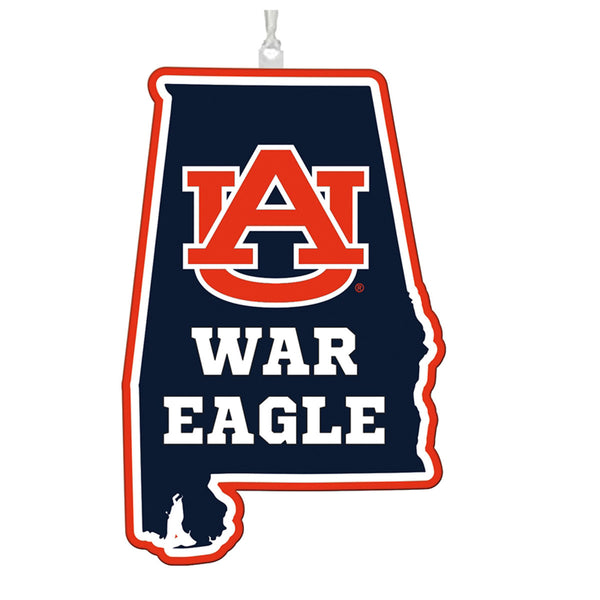 Auburn University State Ornament