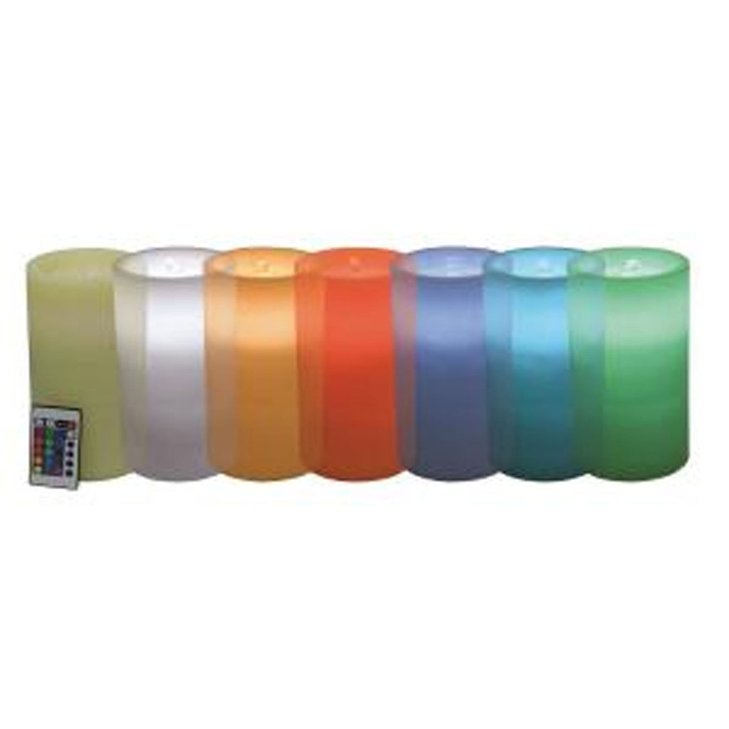Aquaflame Color Morphing Candle  w/remote