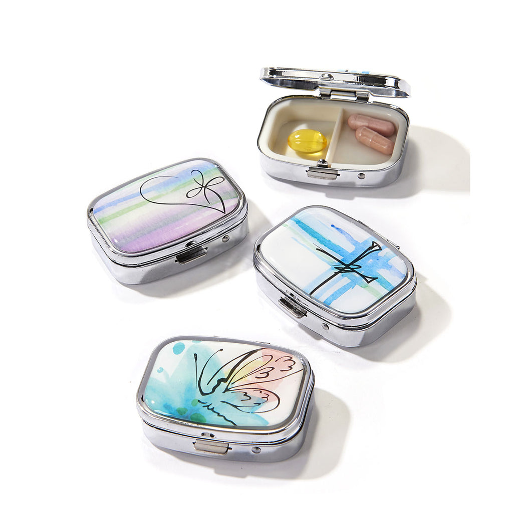 Spiritual Journey Blessing Pill Box