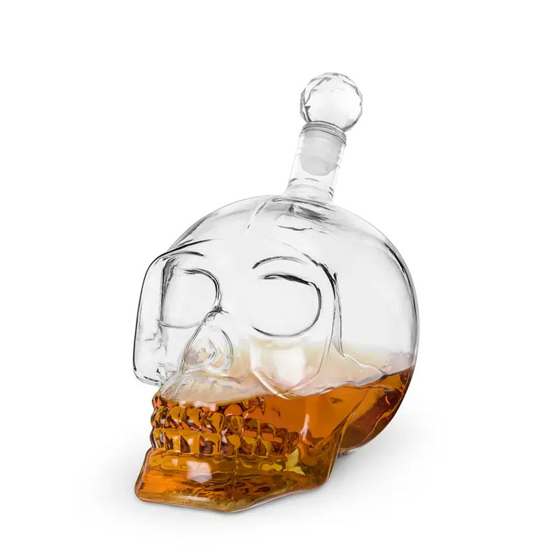 Skull Liquor Decanter by Foster & Rye