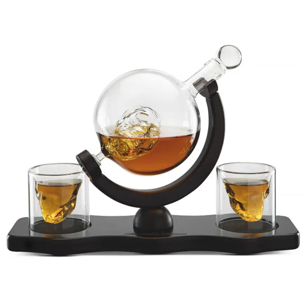 Skull 2-2 Decanter Set