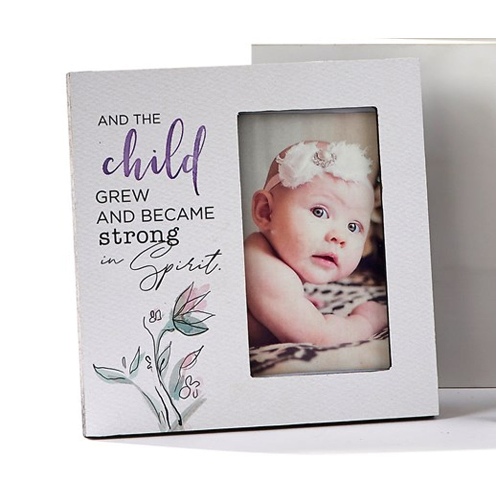 "MDF Photo Frames, ""And the child grew..."""