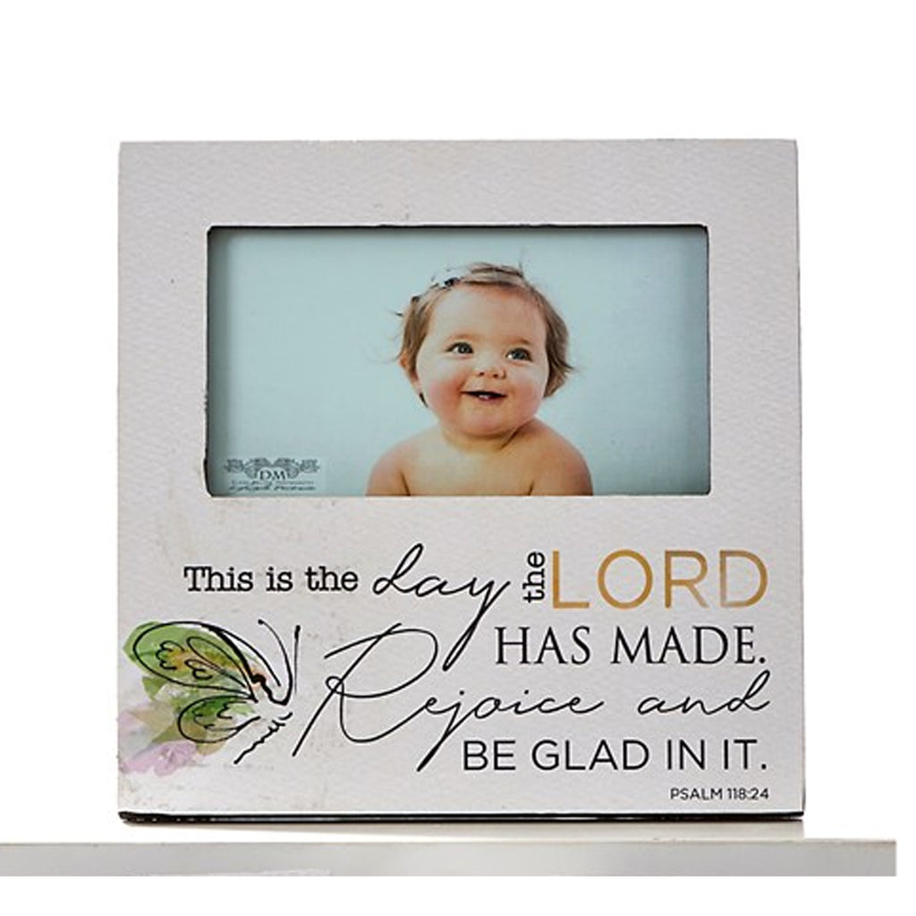 "MDF Photo Frames, ""This is the day that..."""