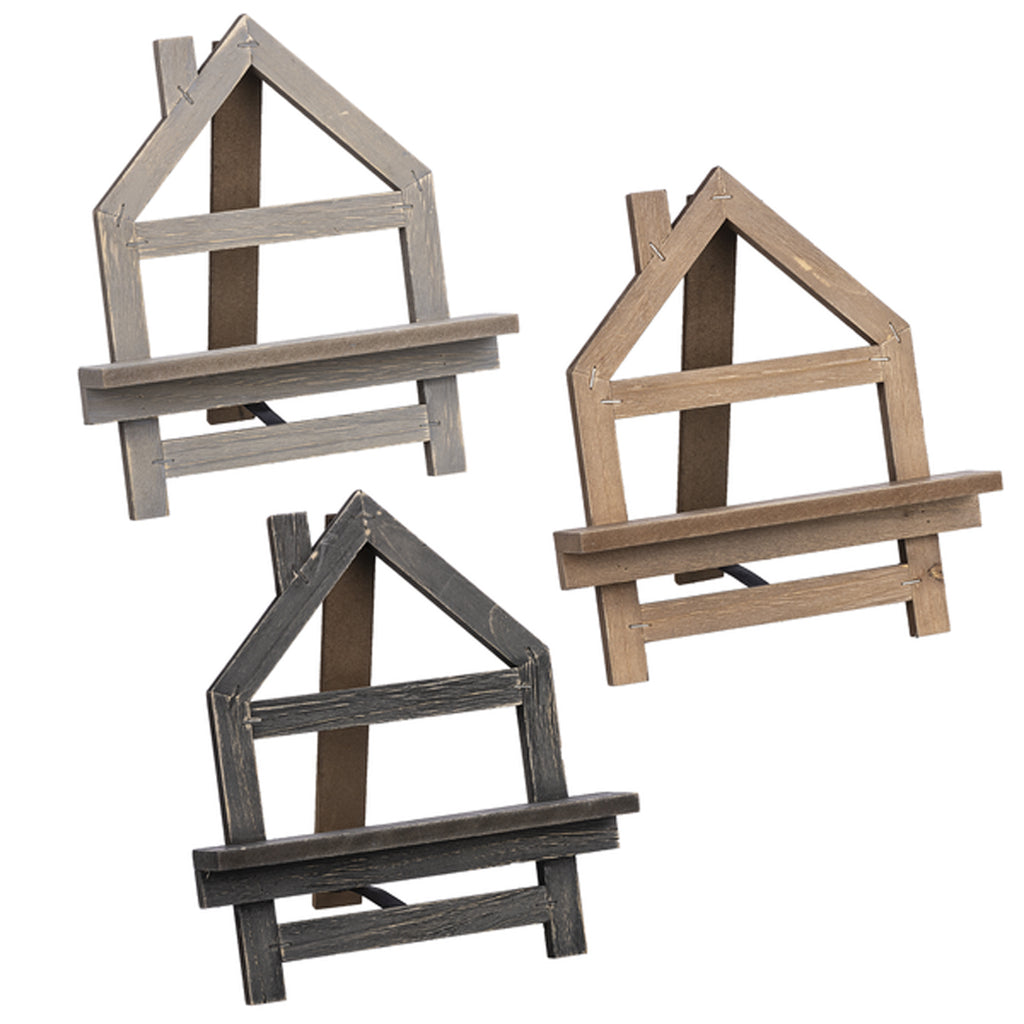 Folding House-shaped Easel