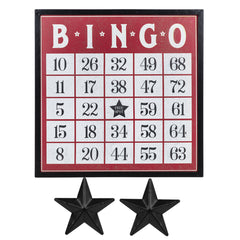 Magnetic Bingo Board Wall Decor