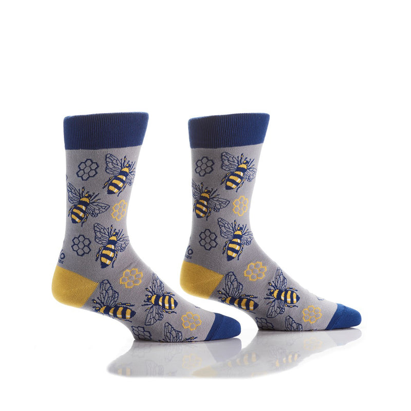 Yo Sox Men's Bees Socks