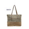 Military Badge Canvas ToteBag