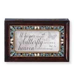"""Whisper I love you"" Music Box"