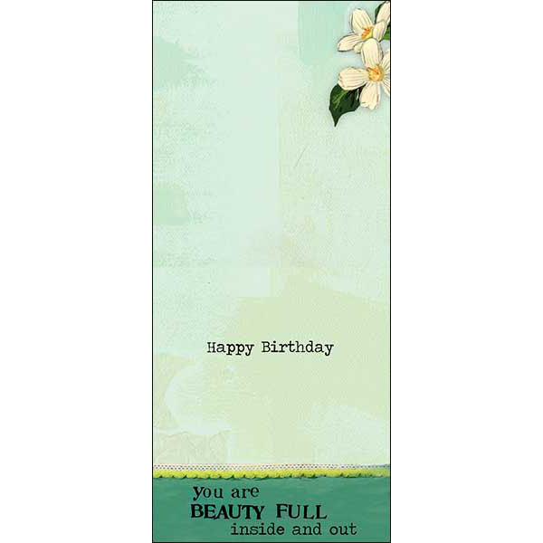 Birthday Card You are Beauty full