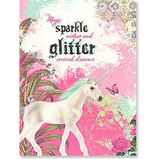 "Birthday Card ""Magic Sparkle..."" w/unicorn"