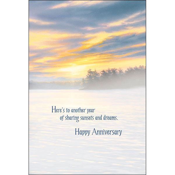 Anniversary Card Here's to Another Year