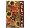 Welcome Garden Flag Autumn