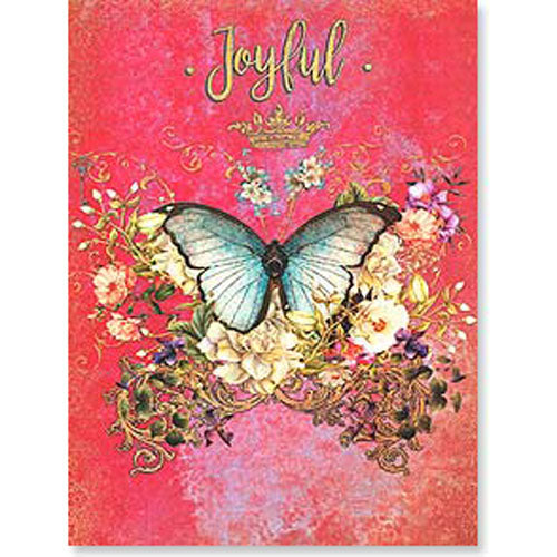 Birthday Card:  Joyful