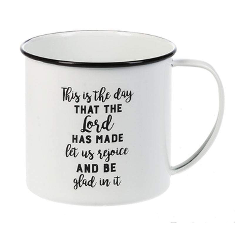 "Camp Mug-""This is the day...."