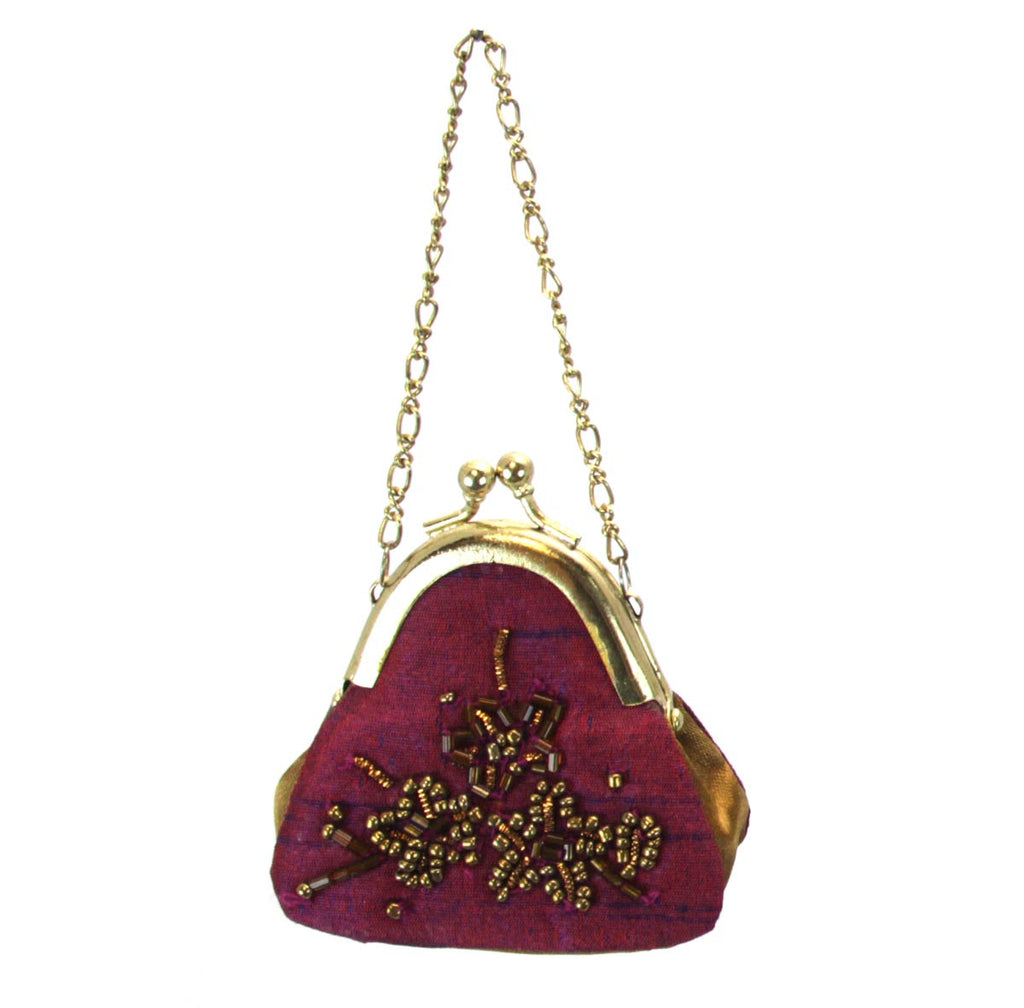 Purse Ornament Purple