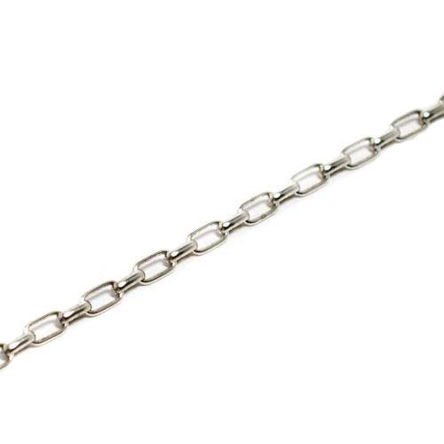 Necklace Silver Cable Chain 24 inch