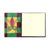 Sticky Note Holder Mardi Gras Mask