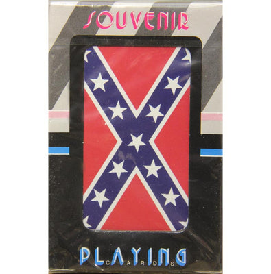 Playing Cards Confederate Battle Flag