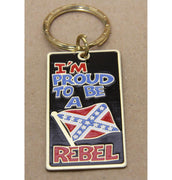 I'm Proud to be a Rebel Key Ring