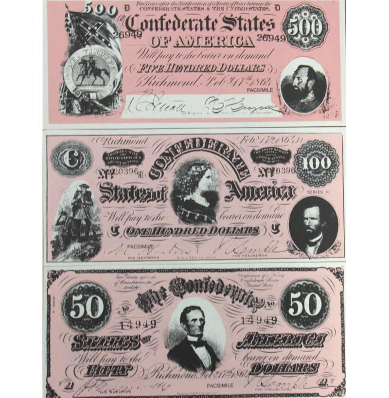Confederate States Paper Money