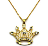 Crown Necklace Gold