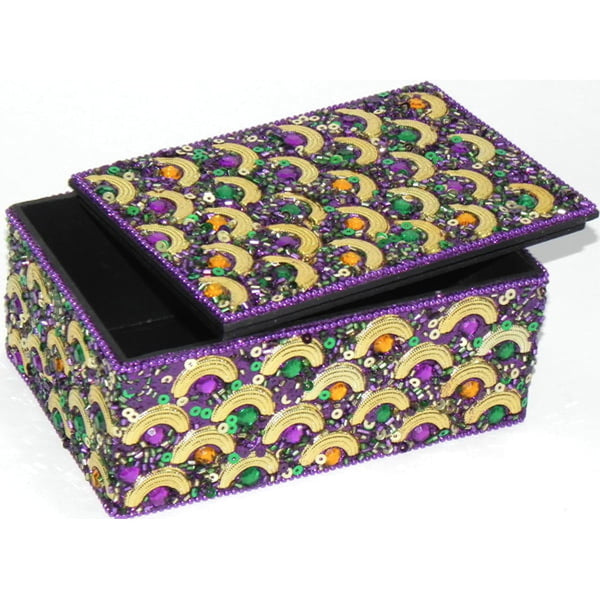 Half Circle Box, Mardi Gras