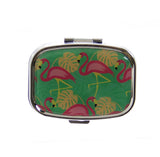 Flamingo Pill Box - Stripe