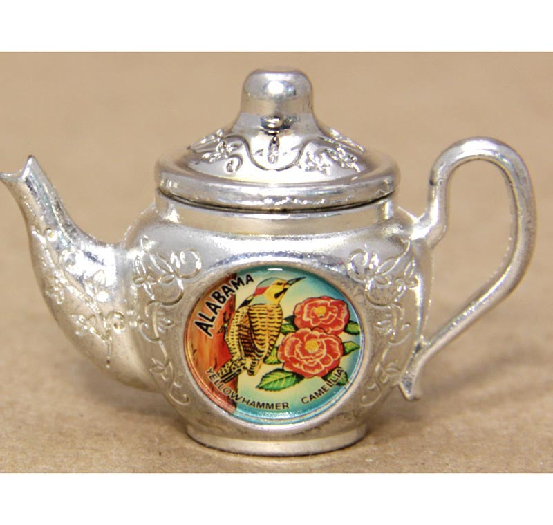 State of Alabama Tiny Teapot
