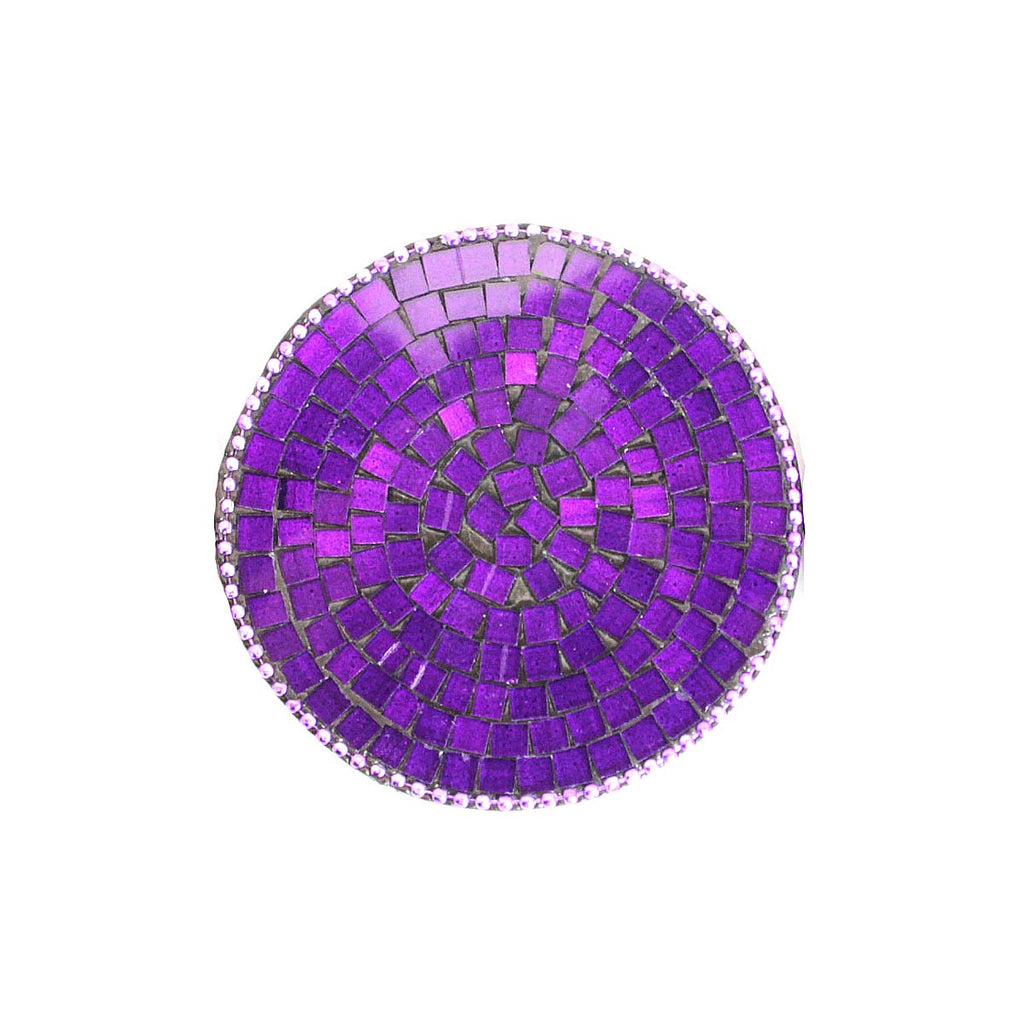 Purse Mirror Purple