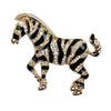 Zebra Pin/Pendant Gold